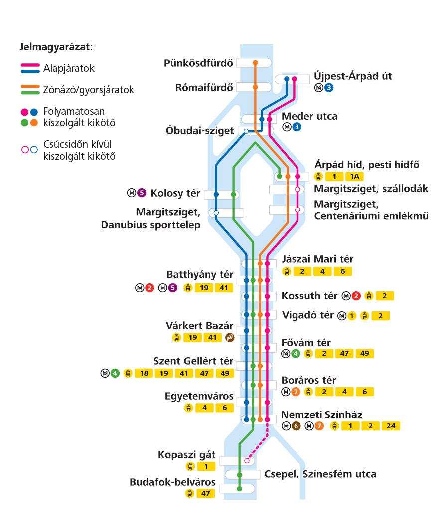 bkk hajó térkép Bkk Hajó Térkép | Térkép