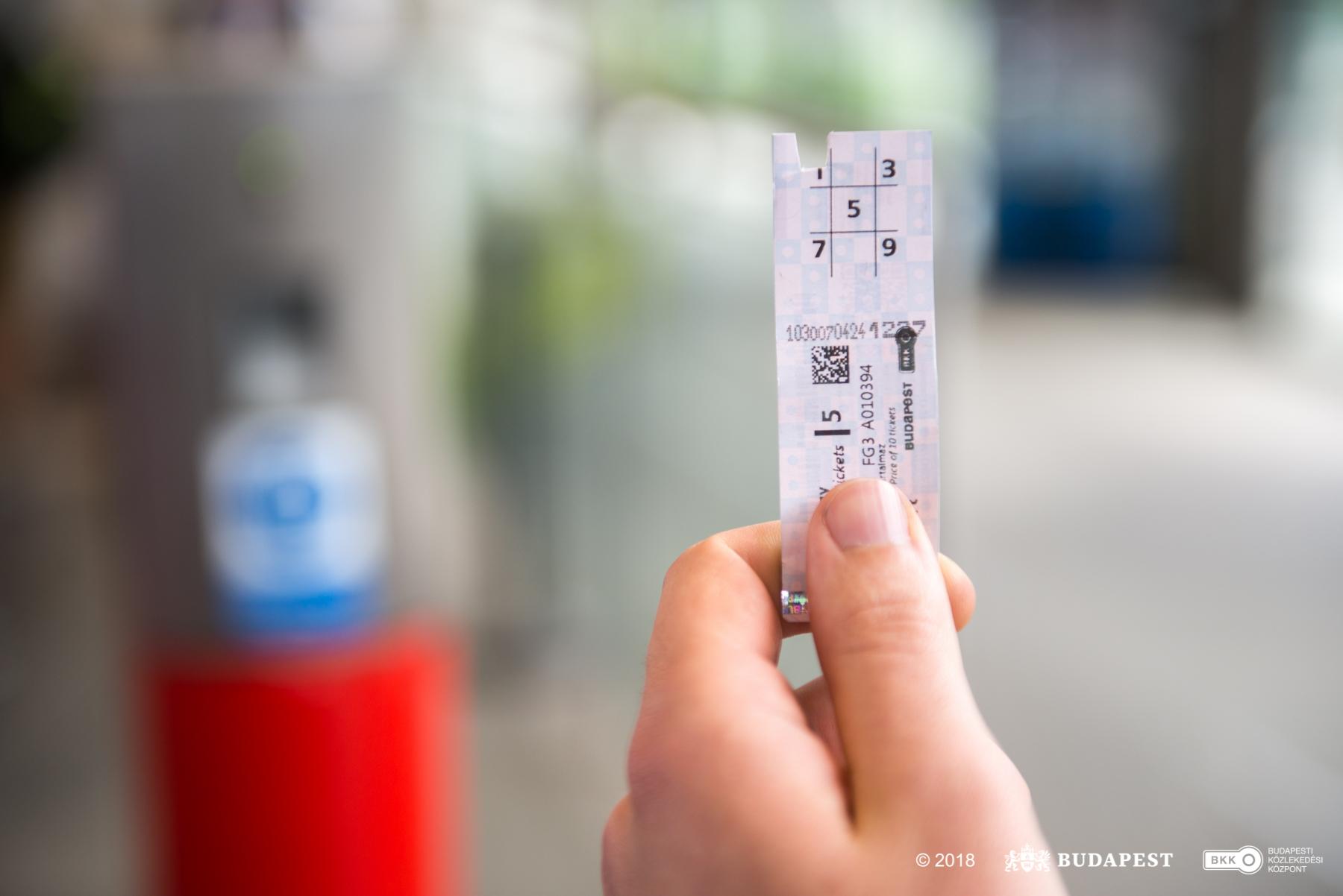 Ticket validation - Budapesti Közlekedési KözpontBudapesti