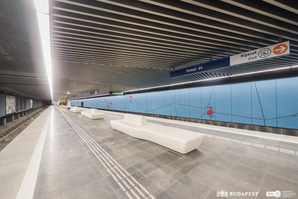 2020 októberében átadták az M3-as metró déli szakaszát is